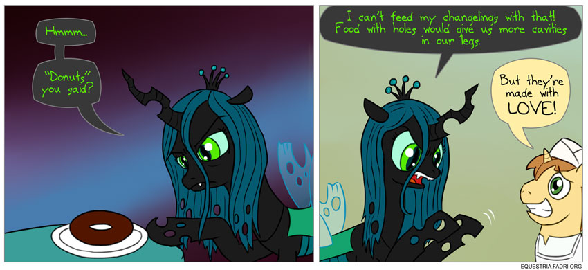 Image result for MLP chrysalis funny